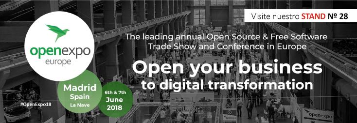 RIC.DOC participa a Open Expo 2018, el major esdeveniment professional sobre Trasformació Digital