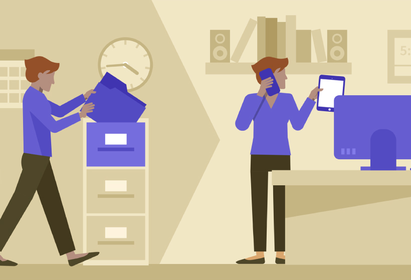 La transformació digital del lloc de treball