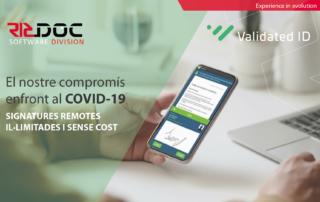El nostre compromís enfront al COVID-19