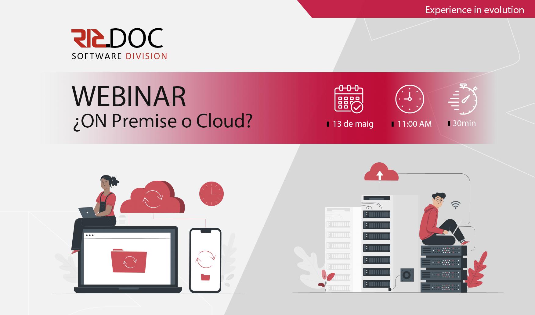 Webinar – On Premise o Cloud?
