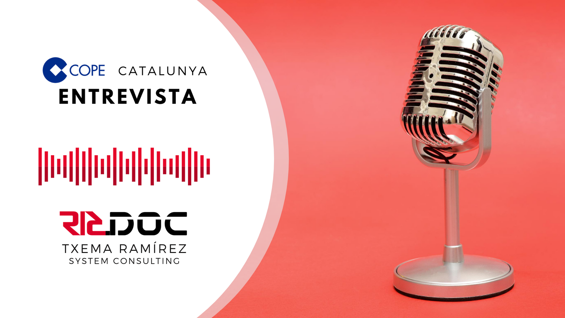 Entrevista a COPE Catalunya