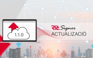 Actualització V.1.1.0 de RICSigner