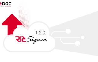 Actualización RICSIGNER 1.2.0.