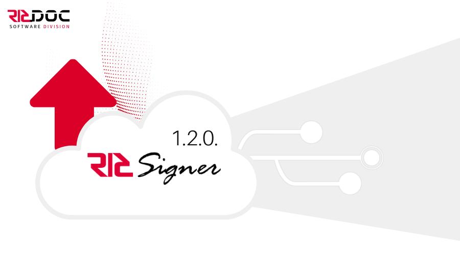 Nova Actualització RICSigner 1.2.0.